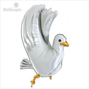 Balão Foil Pomba 3D 90cm R.73020