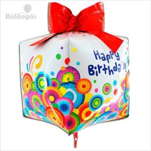 Balão Foil 3D Caixa Presente 76cm