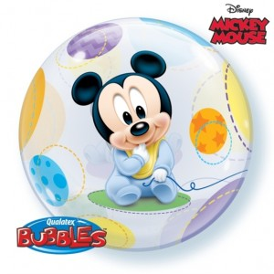 "Bubble Mickey Bébé 22""56cm"