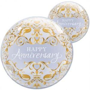 """Bubble Happy Anniversary 22""""56cm"""