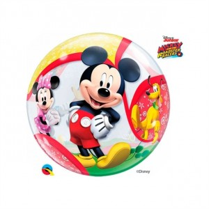 "Bubble Mickey e Amigos  22""56cm"