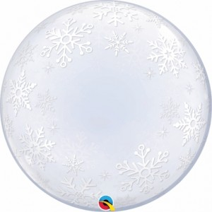 "Bubble Flocos Neve 24""61cm"