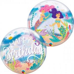 """Bubble Happy Birthday Cereia 22""""56cm"""