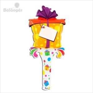 Balão Foil Ramo Presente 70cm Grabo