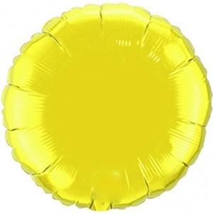 Redondo Foil 45cm Amarelo