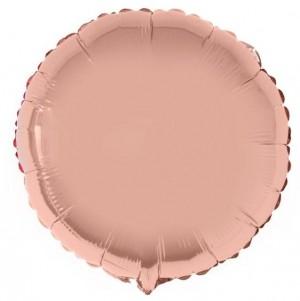 Redondo Foil 45cm Rosa Gold