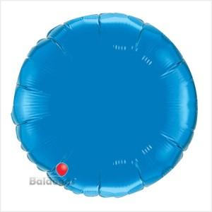 Redondo Foil 40cm Azul