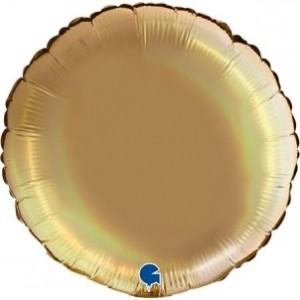 Balão Redondo Platina 46cm Champanhe
