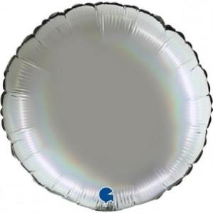 Balão Redondo Platina 46cm Pure