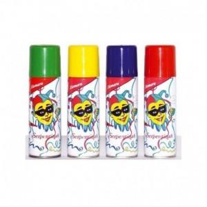 Serpentinas em Spray