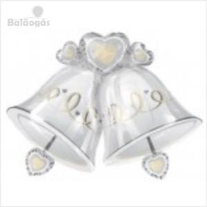 Balão Foil Sinos Casamento 66x90cm