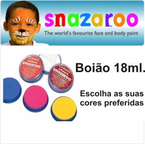 Boião 18ml Snazaroo Metal