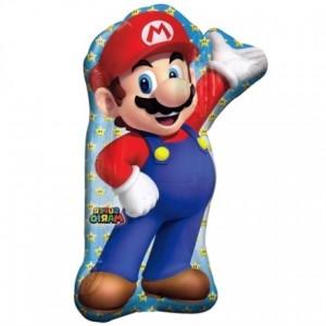 Balão Supershape Super Mário 55x83cm