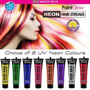 Tinta Cabelo Neon UV