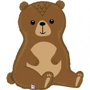 """Balão Urso da Floresta 34""""/86cm Grabo"""