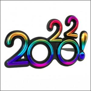 Oculos 2022 Multicor Passagem Ano