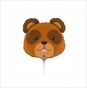 Balão Mini Urso 35cm Grabo