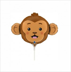 Balão Mini Macaco 35cm Grabo