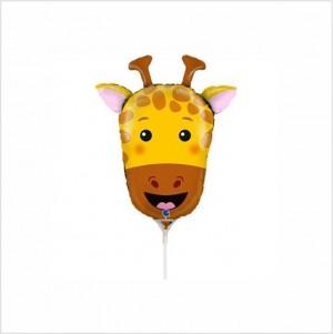 Balão Mini Girafa 35cm Grabo