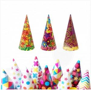 10 Chapeus de Festa Nova Party