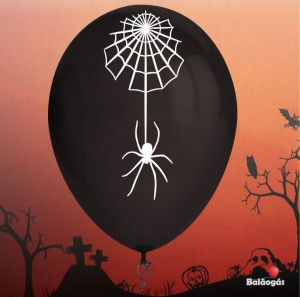 10 Balões Halloween Aranha