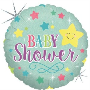 Balão Redondo Baby Shower 46cm