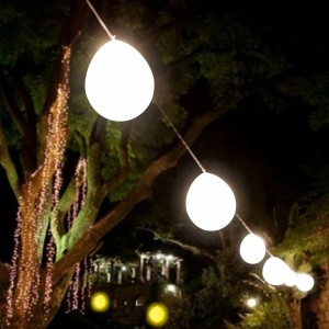 5 Balões Luz ideais para Pendurar