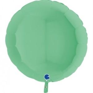 Balão Redondo Mate 46cm Verde