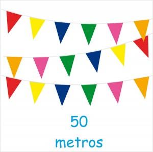 Bandeirolas de 50 Metros