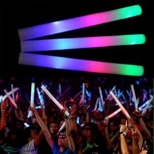 Glow Bastões Esponja Luminosos