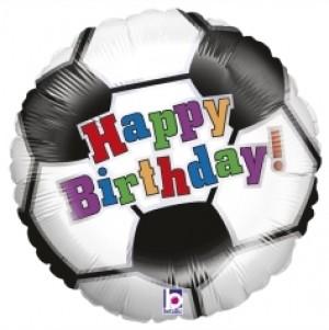 Balão Bola Futebol Aniversário 46cm