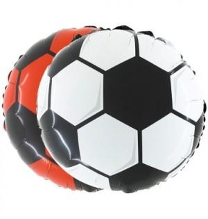 Balão Foil Bola Futebol 45cm 2 cores Escolha