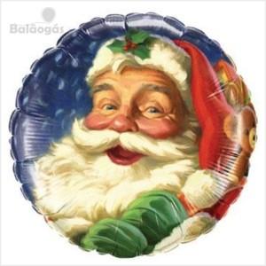 Balão foil Cara Pai Natal 40Cm