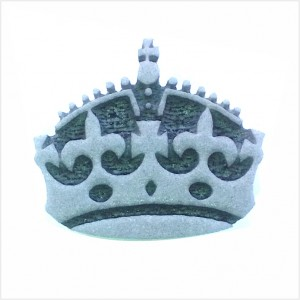 Carimbo Face Paint Coroa Rainha