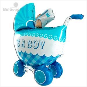 Balão Foil 3D Carrinho Its a Boy 107cm