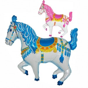 Balão Foil Cavalo Circo 90cm