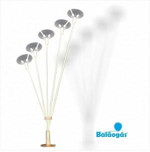 Suporte 5 Balões para decorações 80cm