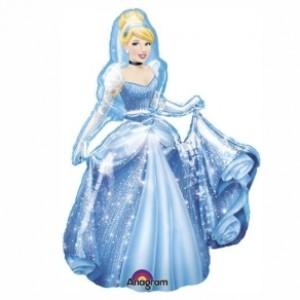 Balão Foil Cinderela 71x84cm R:24814
