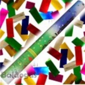 Confétis Cores de Qualidade (tubo 70cm)