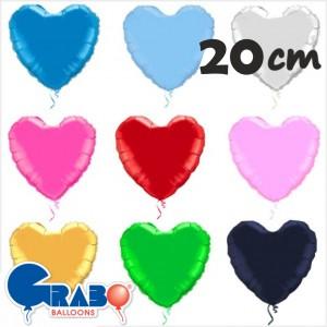 Balões Coração Foil 20cm