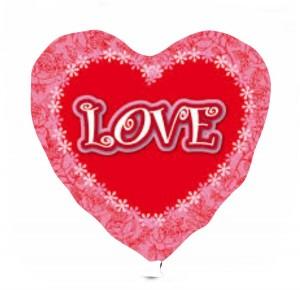 Coração Foil 40cm Ref: Love 2