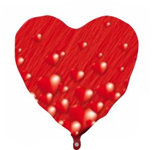 Coração Foil 40cm Ref: Riscos