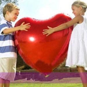 Coração Foil Gigante 90cm Grabo