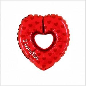Balão Mini Coração C/Buraco 35Cm Grabo