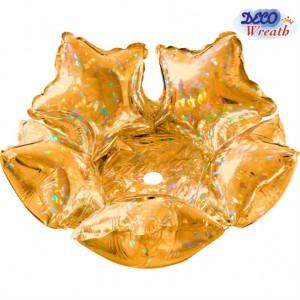 Deco Star 36cm Ouro Holografic