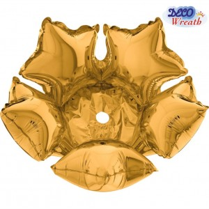 Deco Star 36cm Ouro