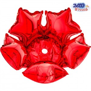 Deco Star 36cm Vermelho Grabo