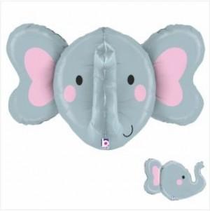 Balão 3D Elefante 86cm