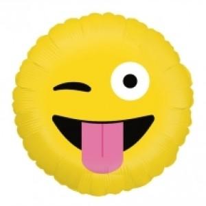 Balão Emoji Wacky 46cm Grabo