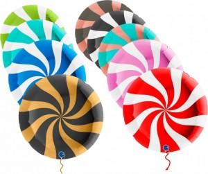 """Balão Espiral Grabo 18""""/46cm"""